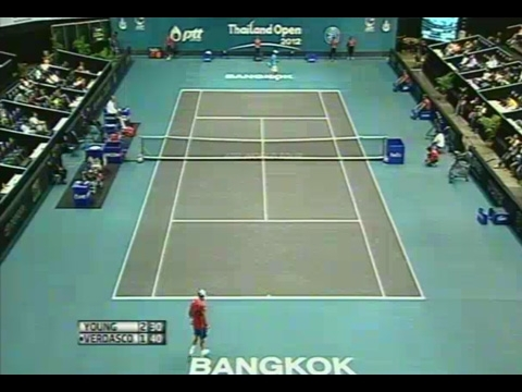 Thailand Open 2012 - YOUNG vs VERDASCO - Eazy FM